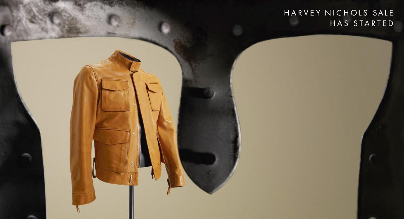 Harvey Nichols Outdoor Ad -  Jacket