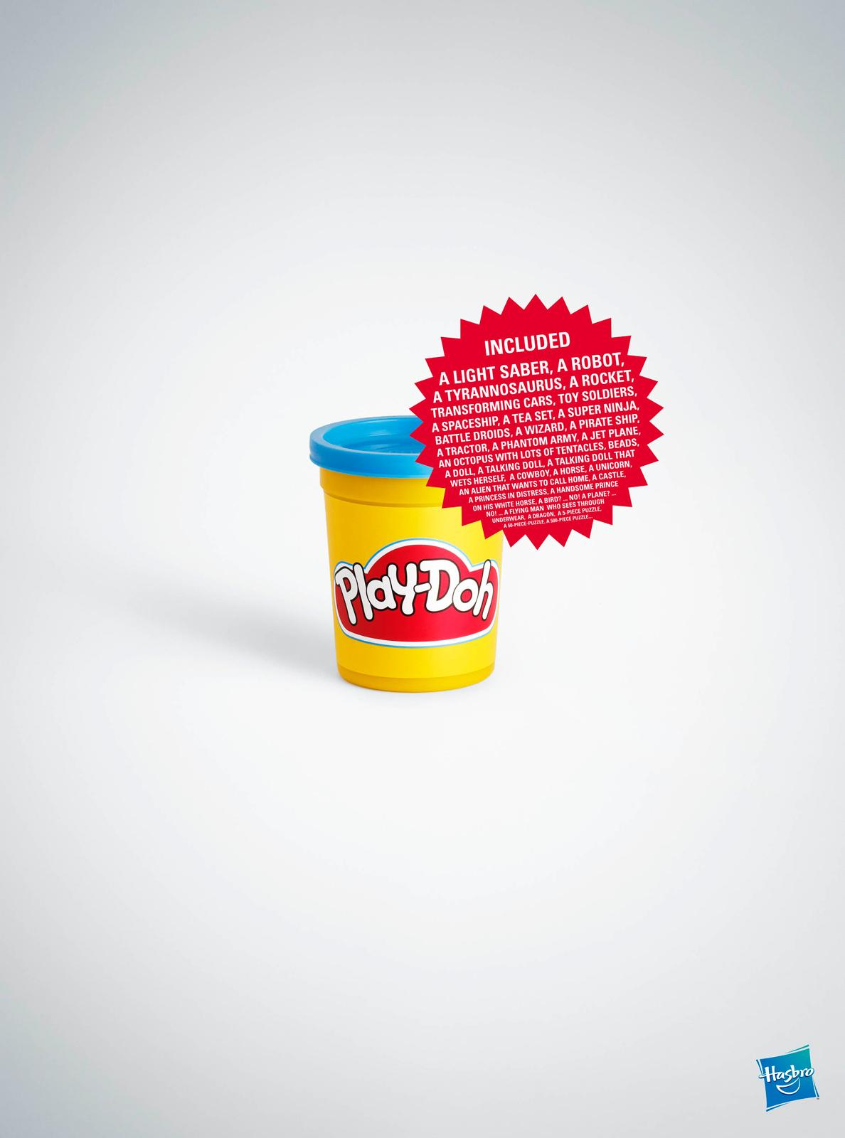 Play-Doh Print Ad -  Tub