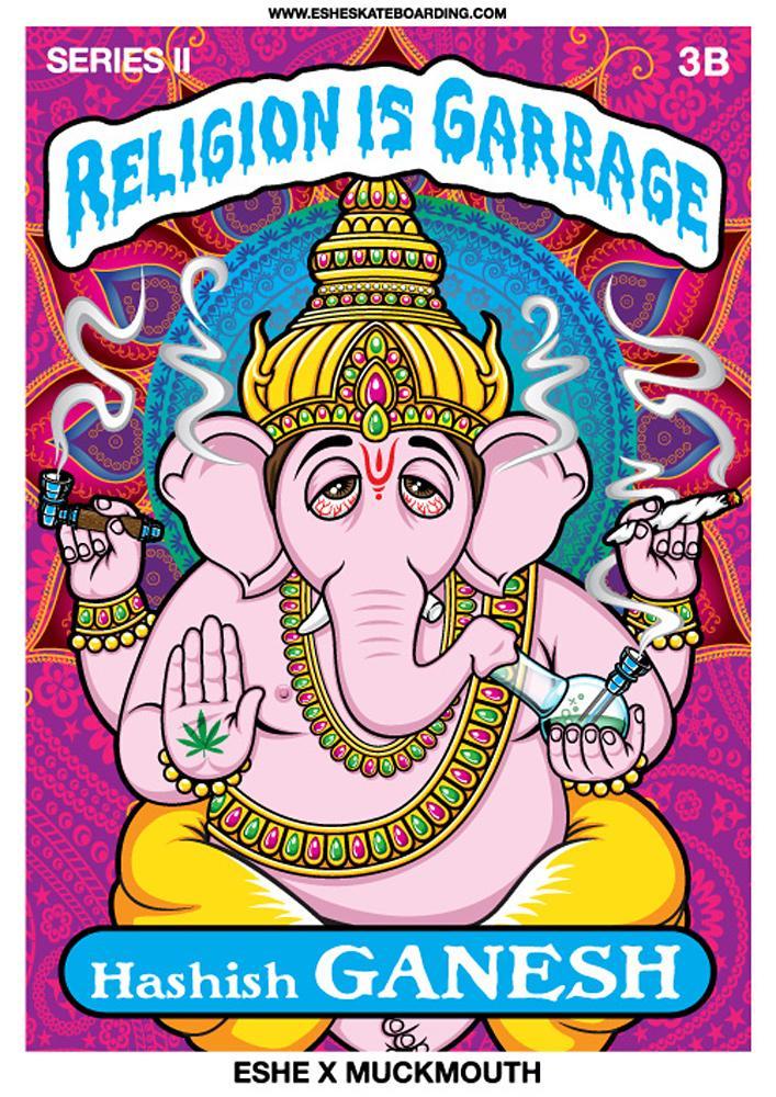 Eshe Streetwear Outdoor Ad -  Hashish Ganesh