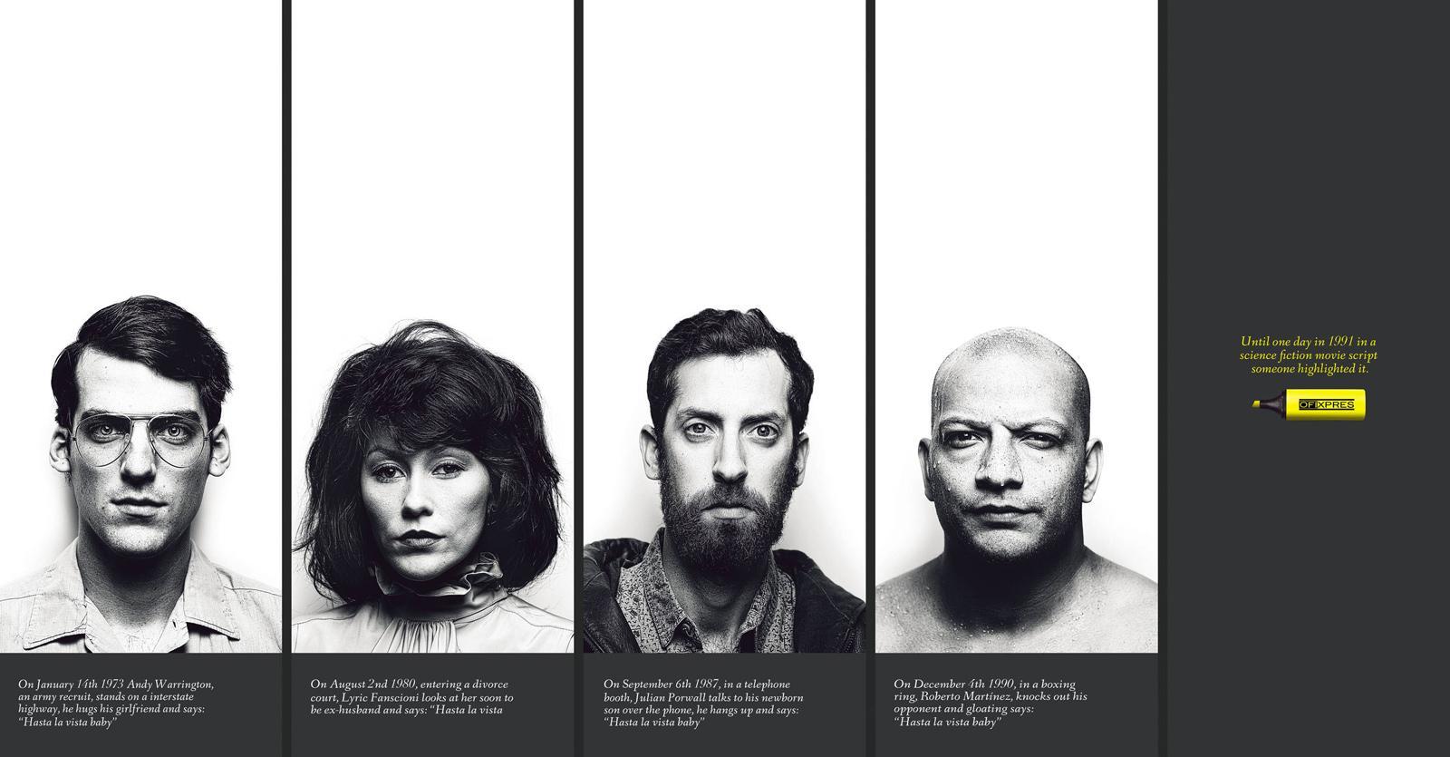 Ofixpres Print Ad -  Hasta la vista