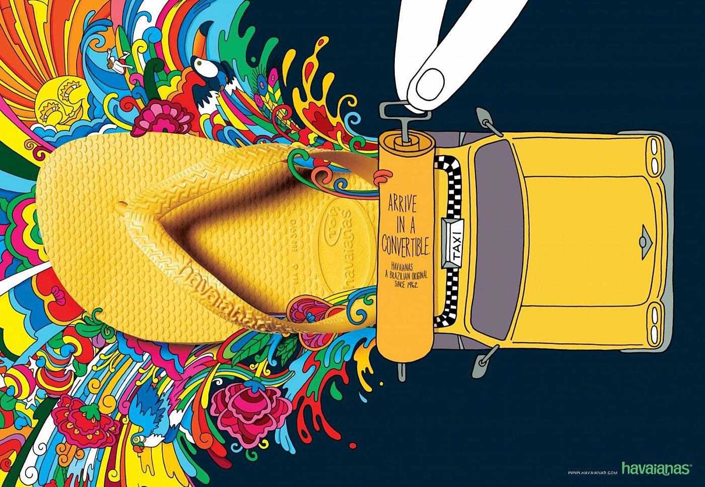 Havaianas Print Ad -  Taxi