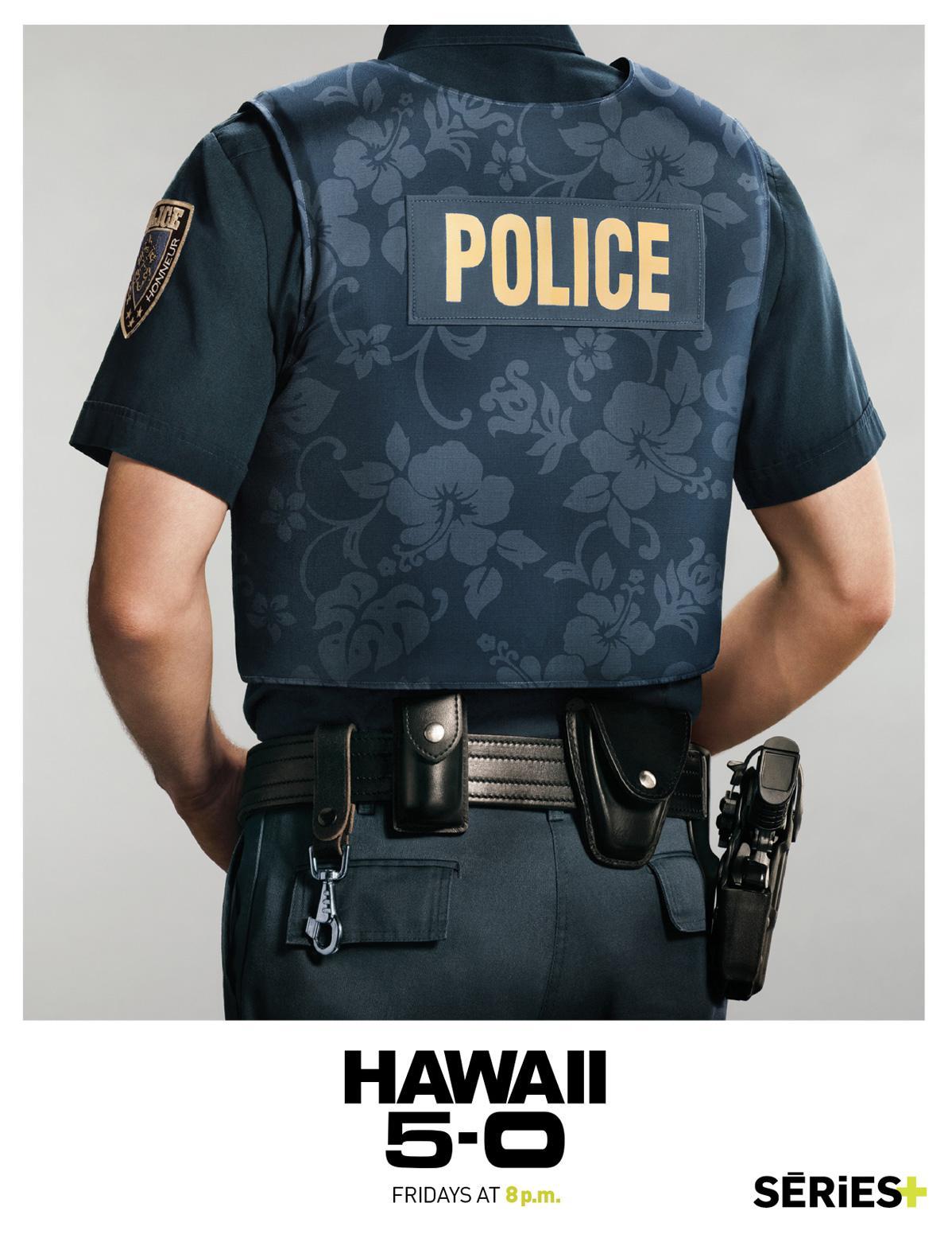 SERIES+ Print Ad -  Hawaii Five-O, Police