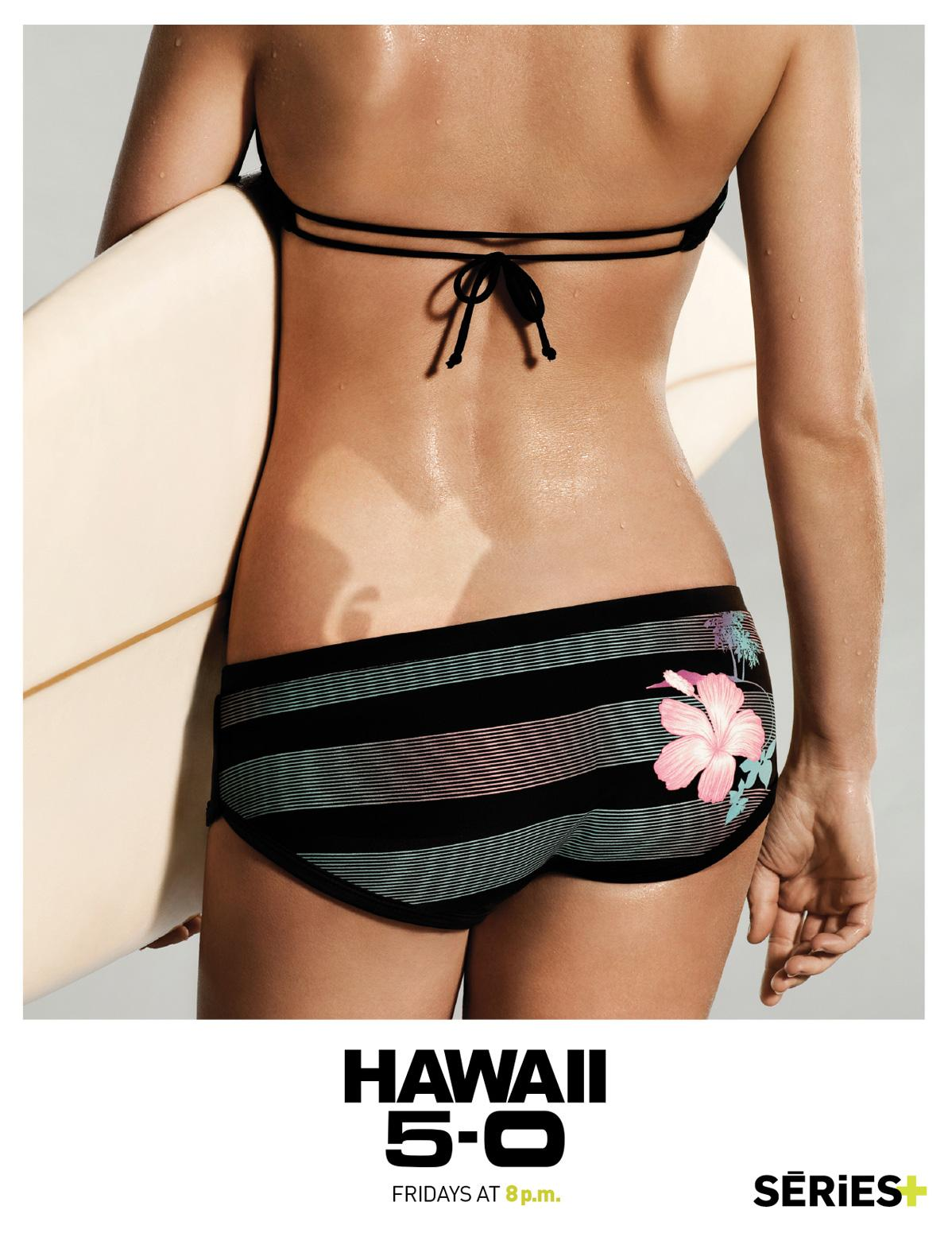 SERIES+ Print Ad -  Hawaii Five-O, Wetsuit