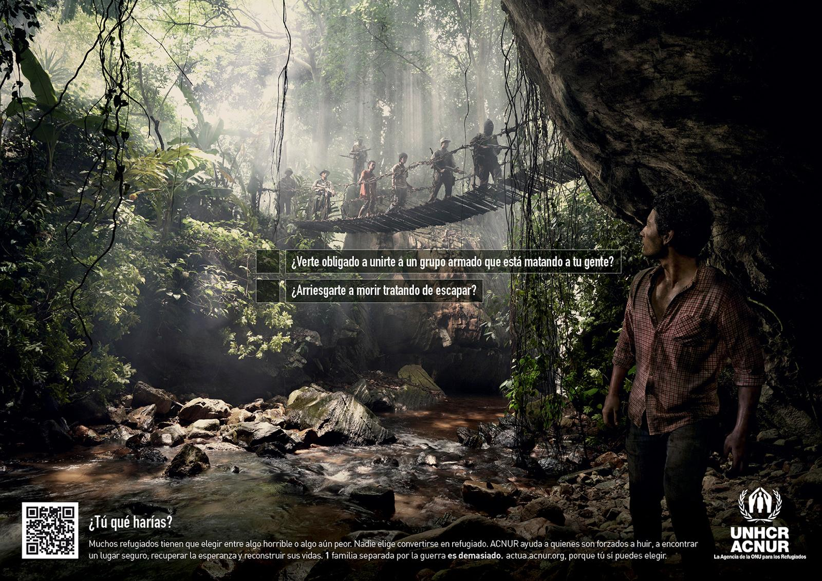 UNHCR Print Ad -  Dilema, 4