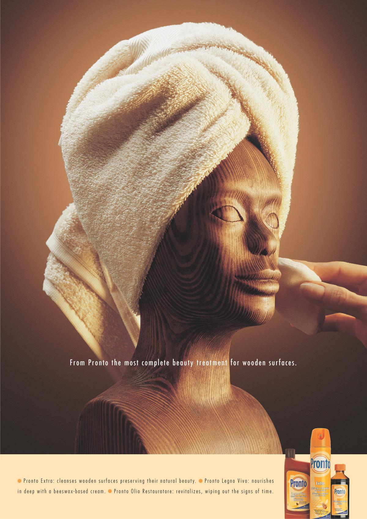 Pronto Print Ad -  Head