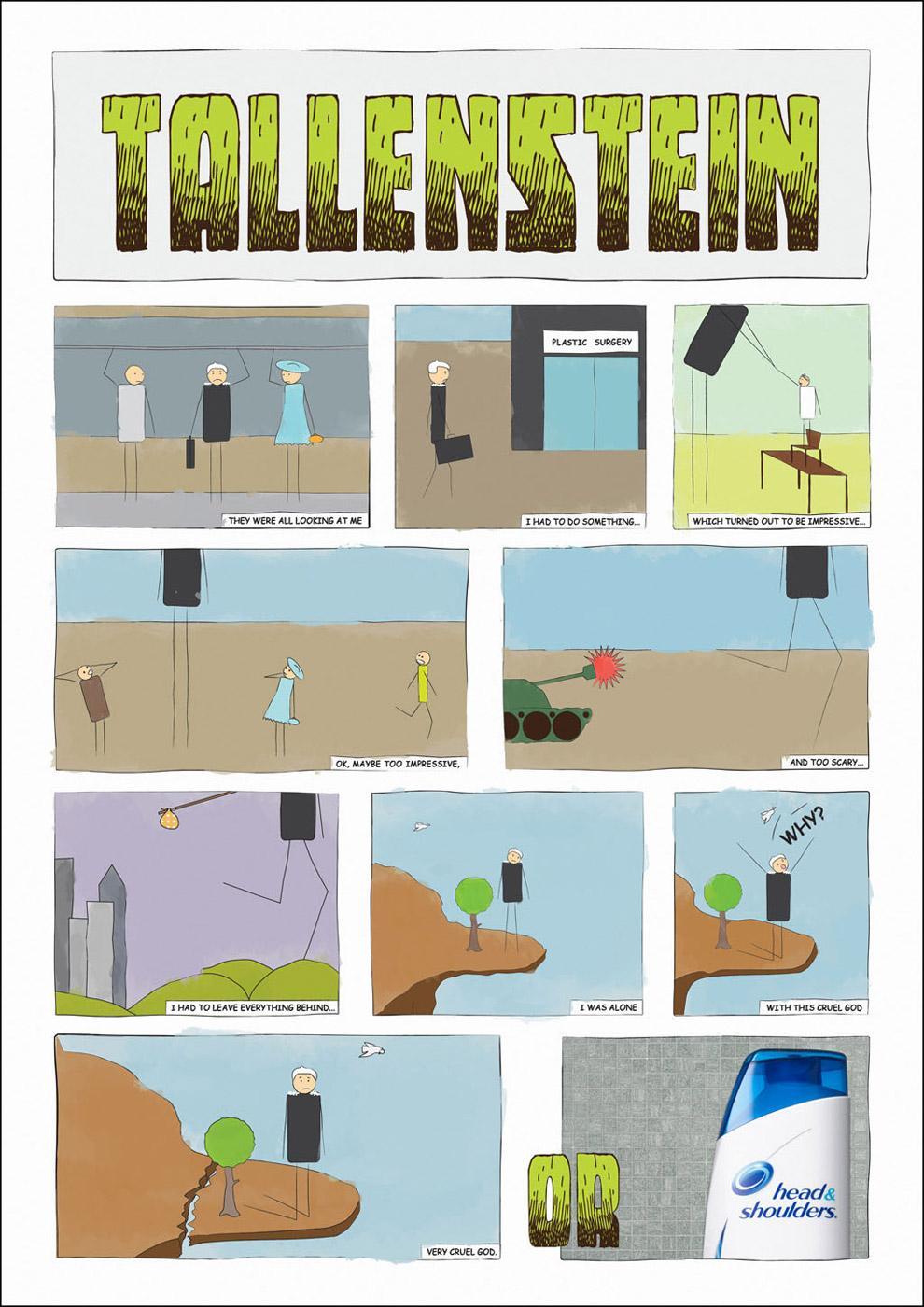 Head & Shoulders Print Ad -  Tallenstein