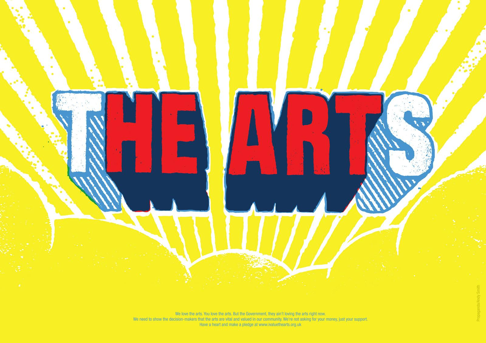 NCA Print Ad -  The Arts