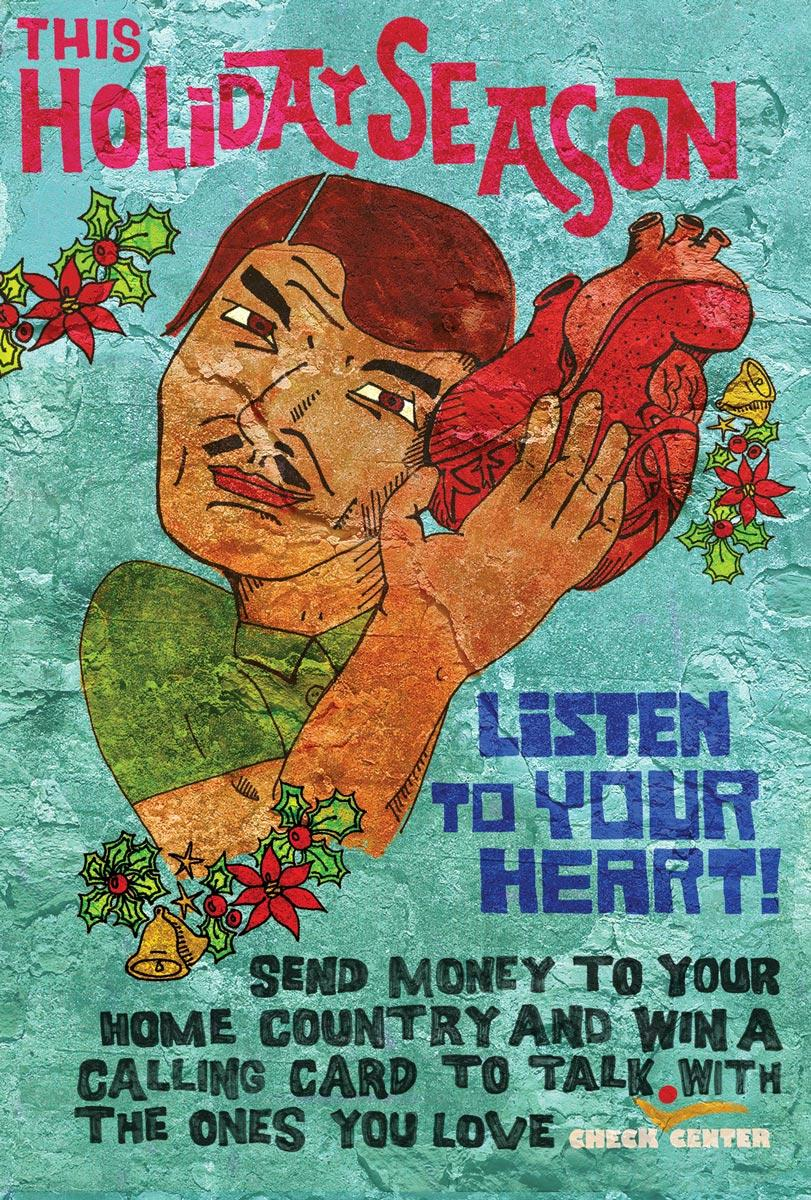 Holiday posters, Heart