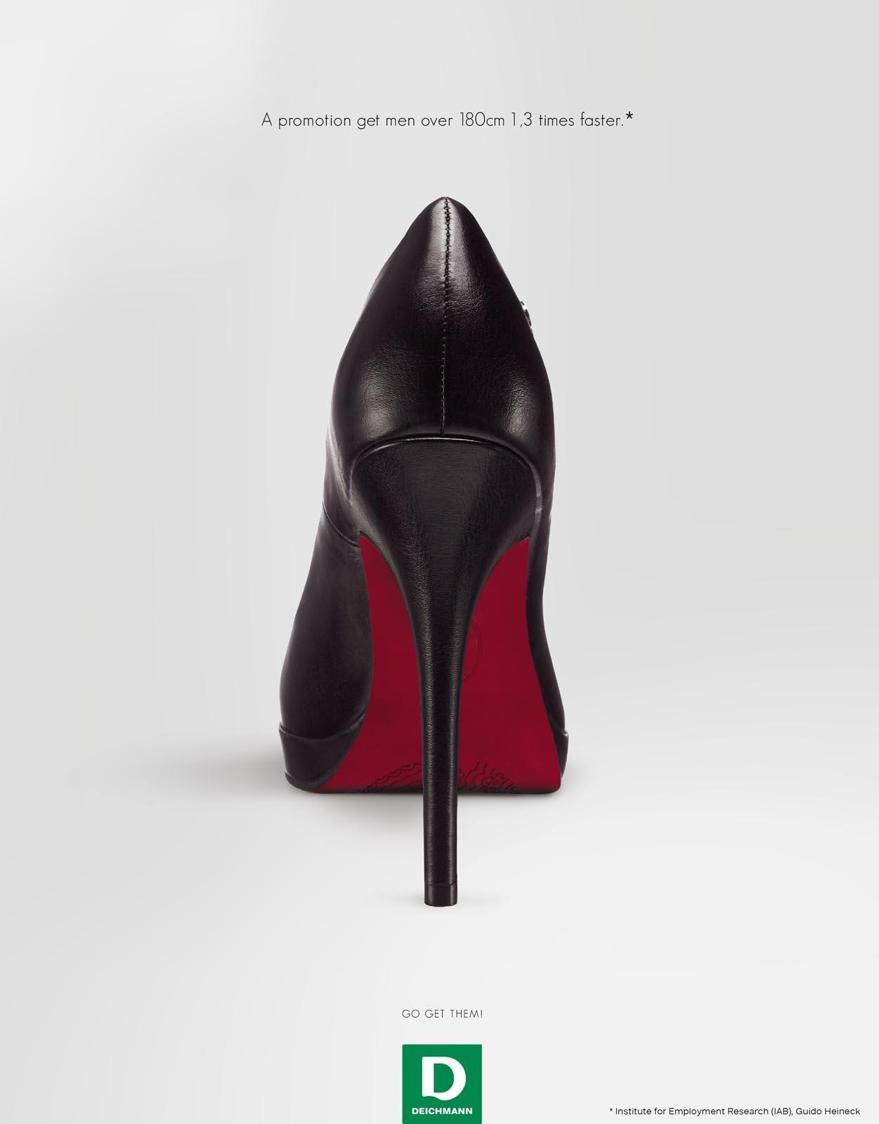 Deichmann Print Ad -  High Heels, 3
