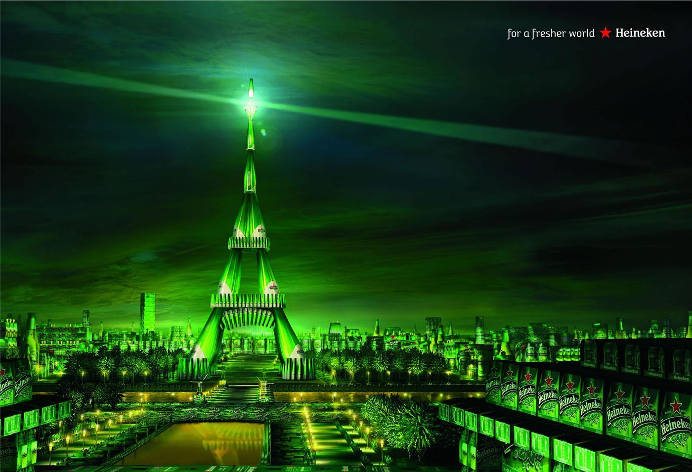 Heineken Print Ad -  Paris