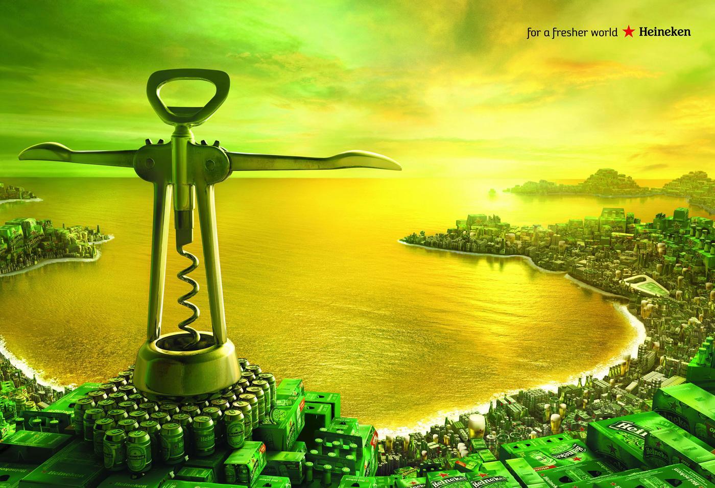 Heineken Print Ad -  Rio