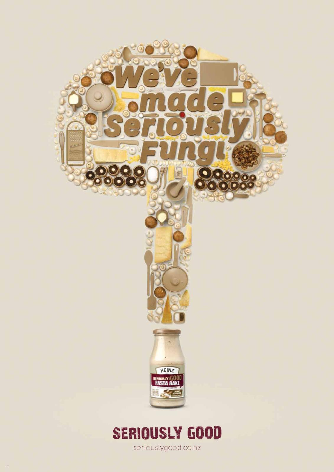 Heinz Print Ad -  Seriously Fungi