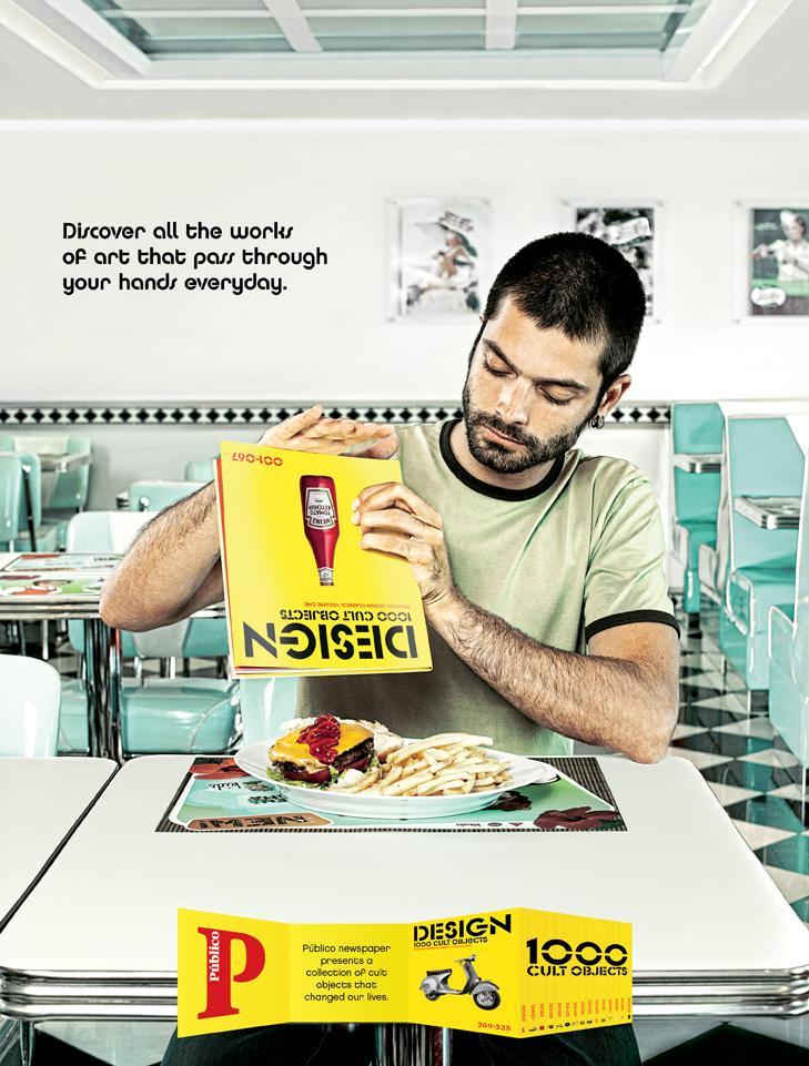 Público Print Ad -  Heinz