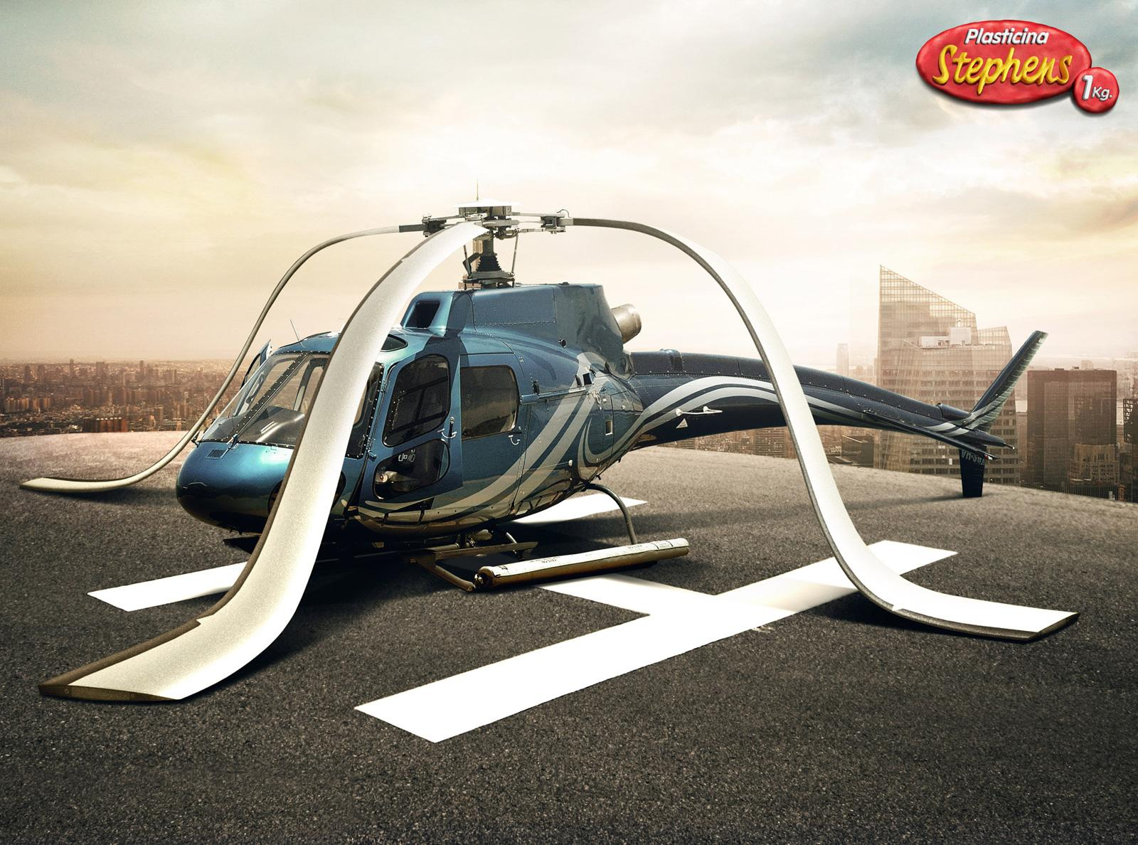 Stephens Print Ad -  Helicopter