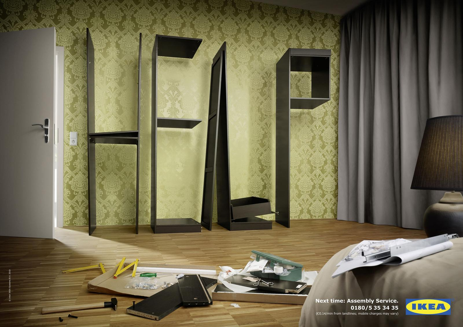 IKEA Print Ad -  Bedroom Help