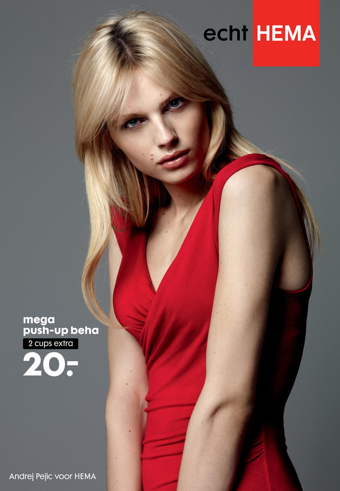Hema Outdoor Ad -  Push-up bra modelled by Andej Pejic, 1