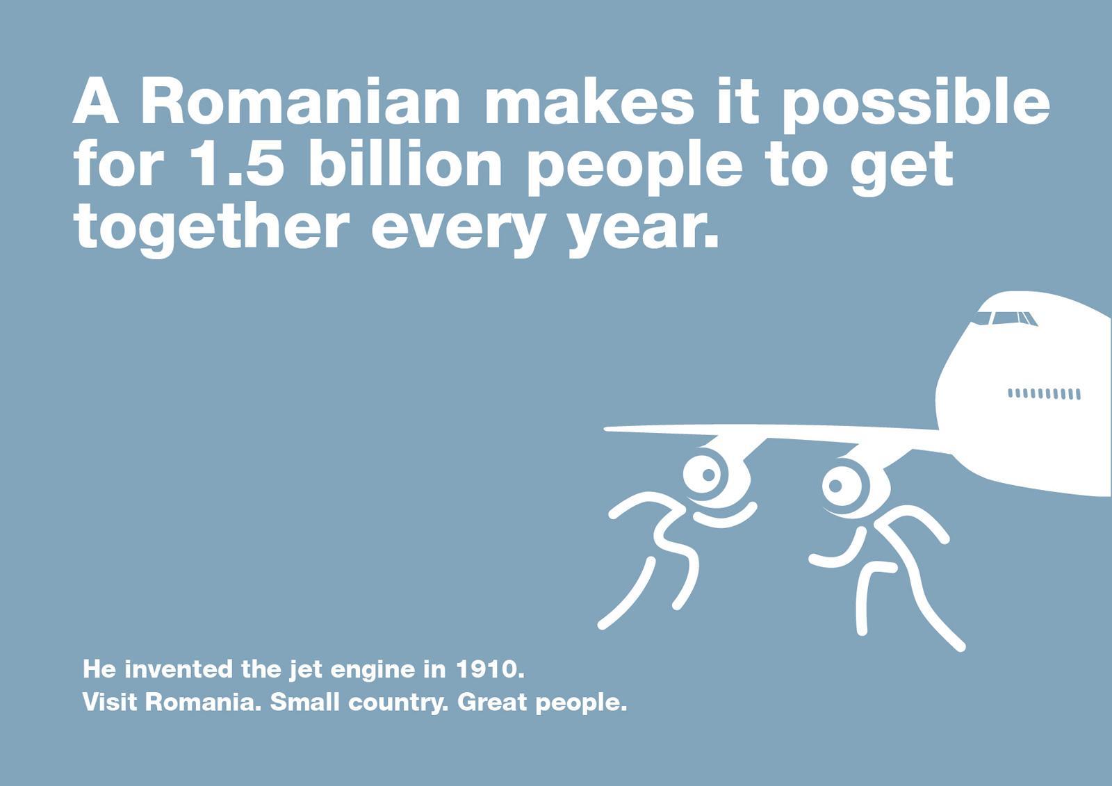 Romania Print Ad -  Henri Coanda