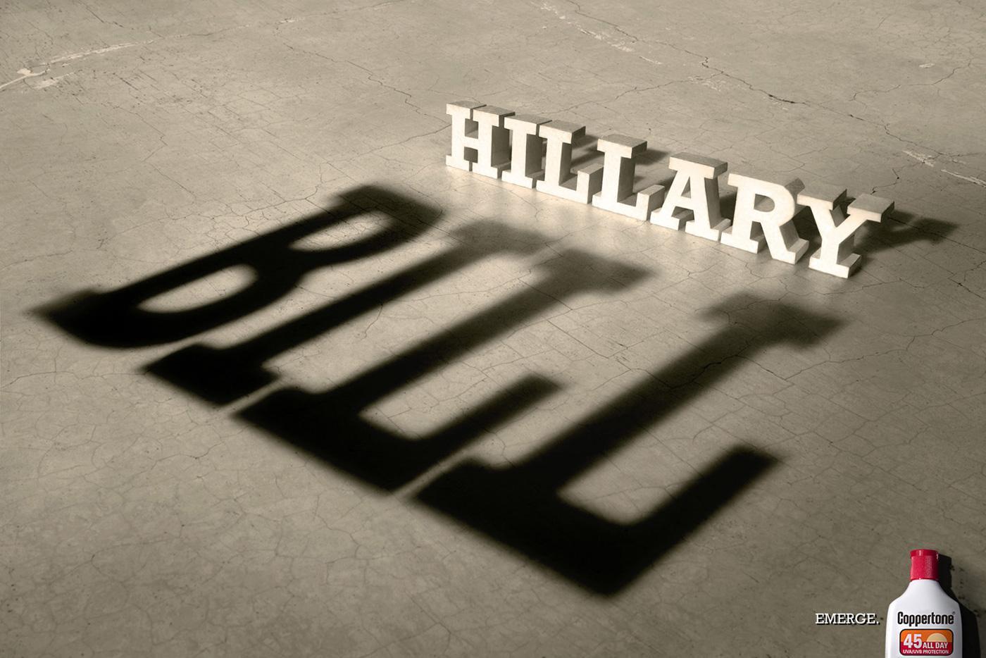 Coppertone Print Ad -  Hillary