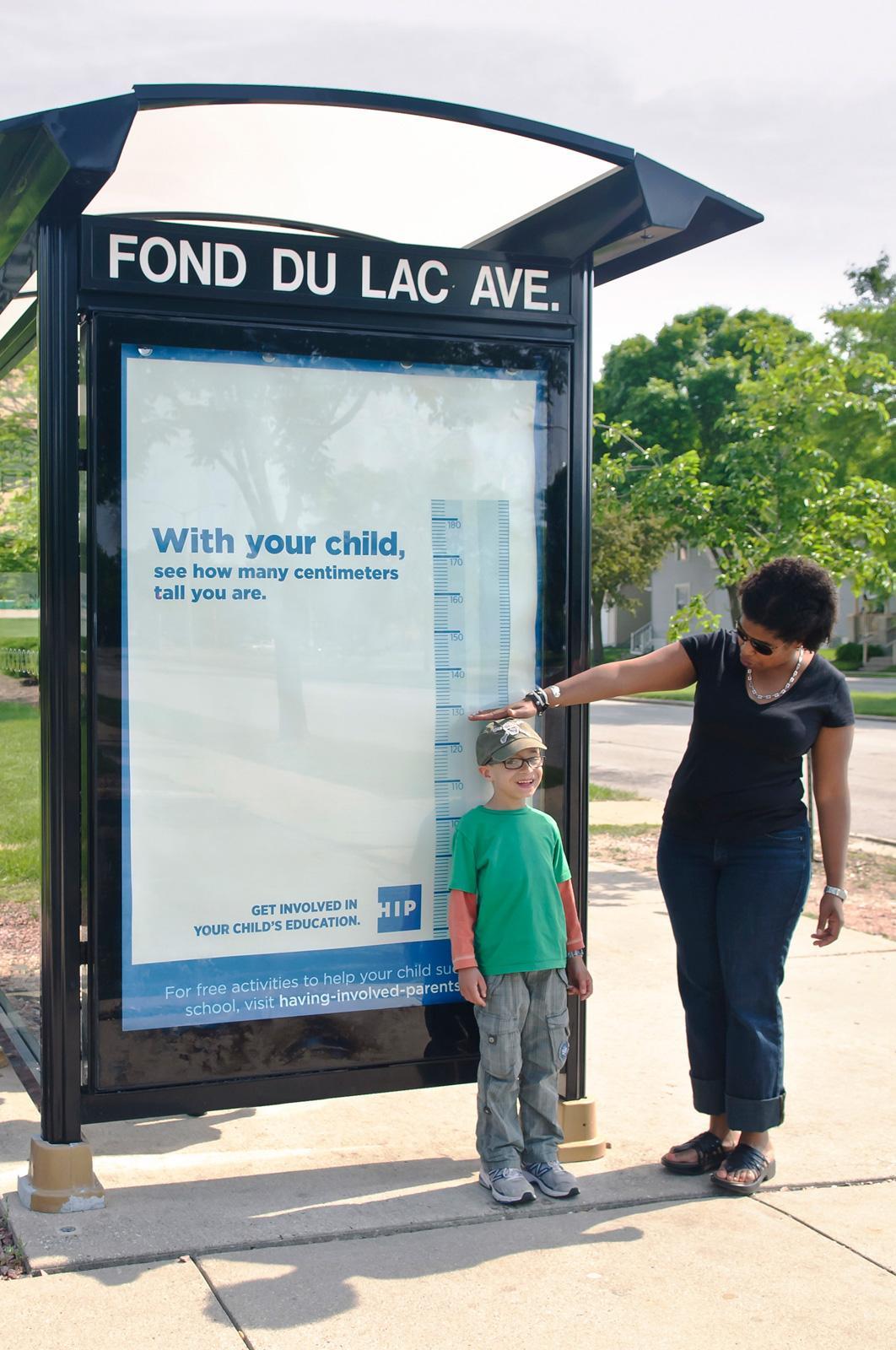 HIP Outdoor Ad -  Bus stop measure
