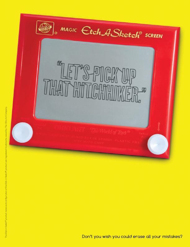 Etch A Sketch Print Ad -  Hitch