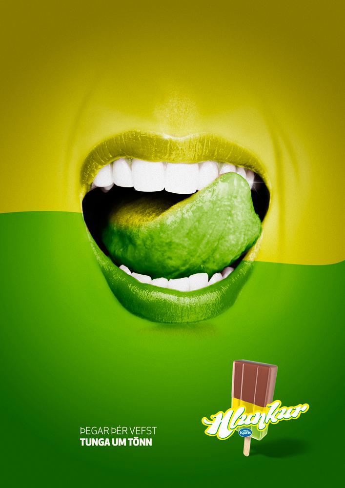 Hlunkur Print Ad -  Fruit