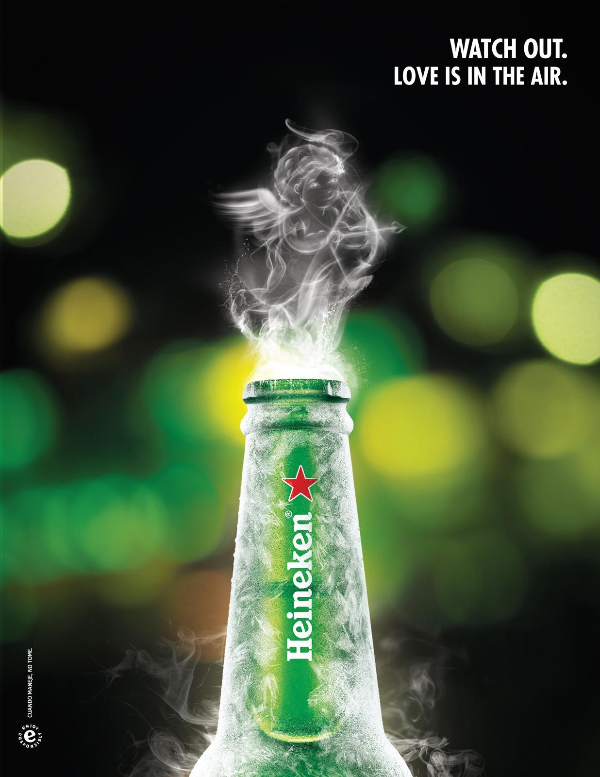 Heineken Print Ad -  Valentine's Day