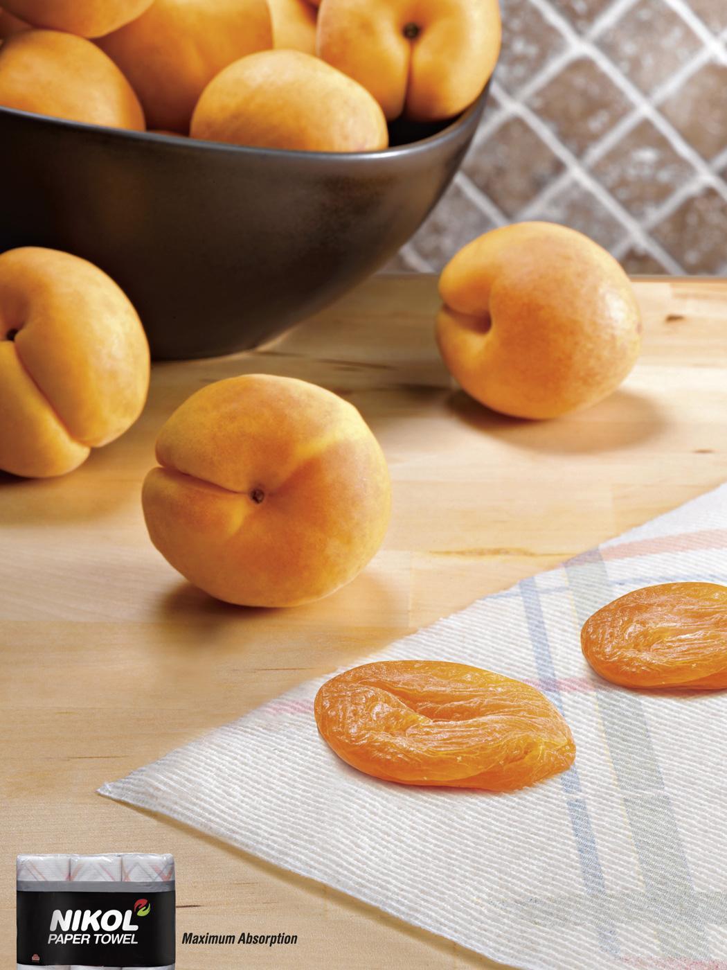 Nikol Print Ad -  Apricot