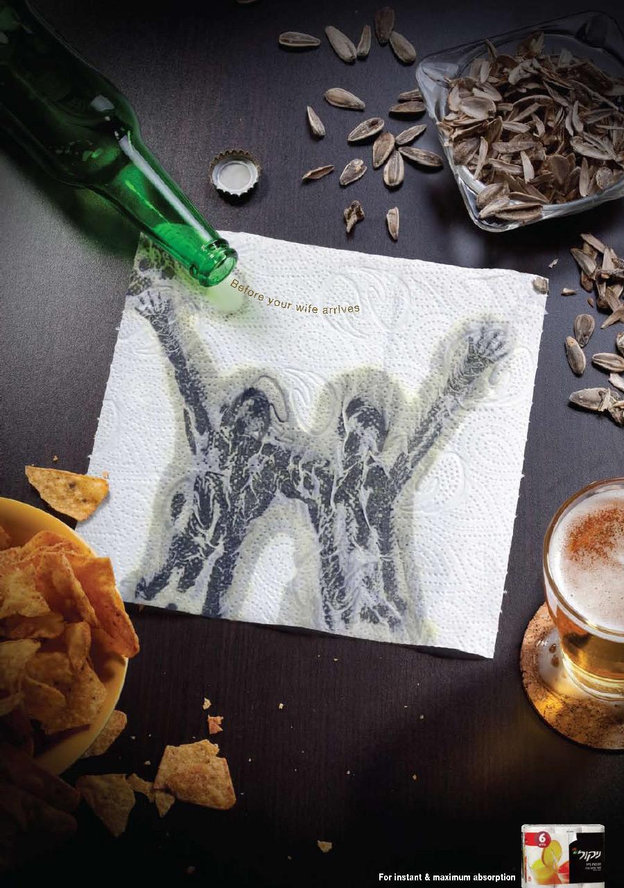 Nikol Print Ad -  Beer