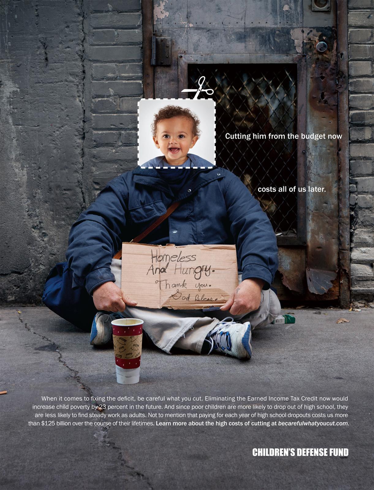Children's Defense Fund Print Advert By Fallon: Be Careful ...