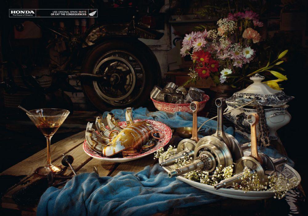Honda Print Ad -  Still life, 2