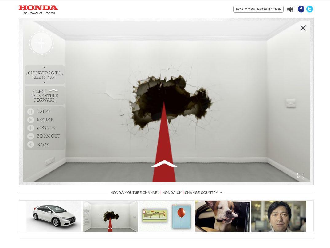 Honda Digital Ad -  Off the Grid