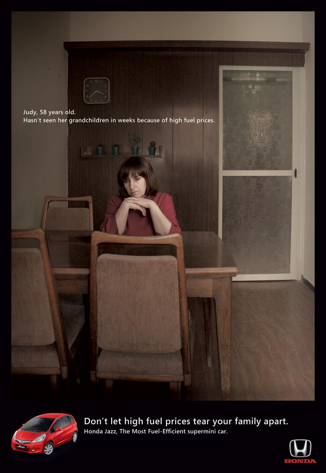 Honda Print Ad -  Judy