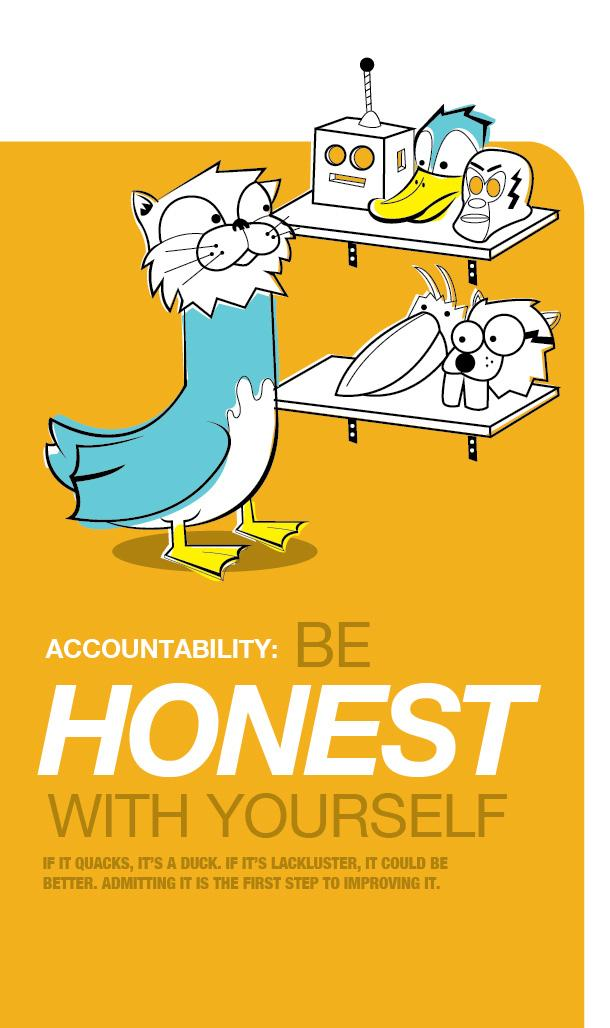 JWT Outdoor Ad -  Be honest with yourself
