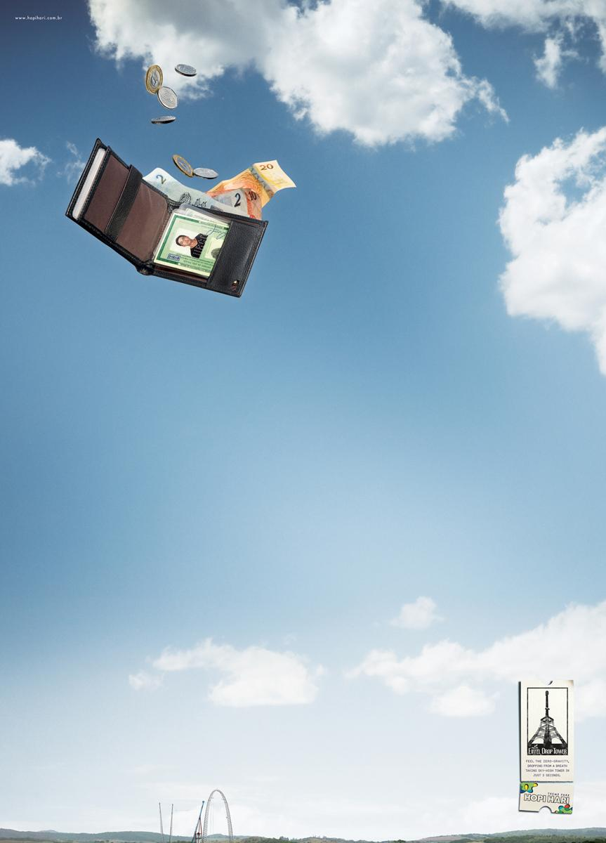 Hopi Hari Theme Park Print Ad -  Wallet