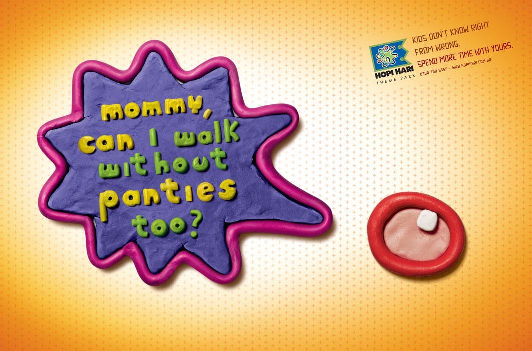 Hopi Hari Theme Park Print Ad -  Panties