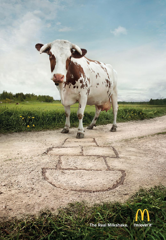 McDonald's Print Ad -  Hopscotch