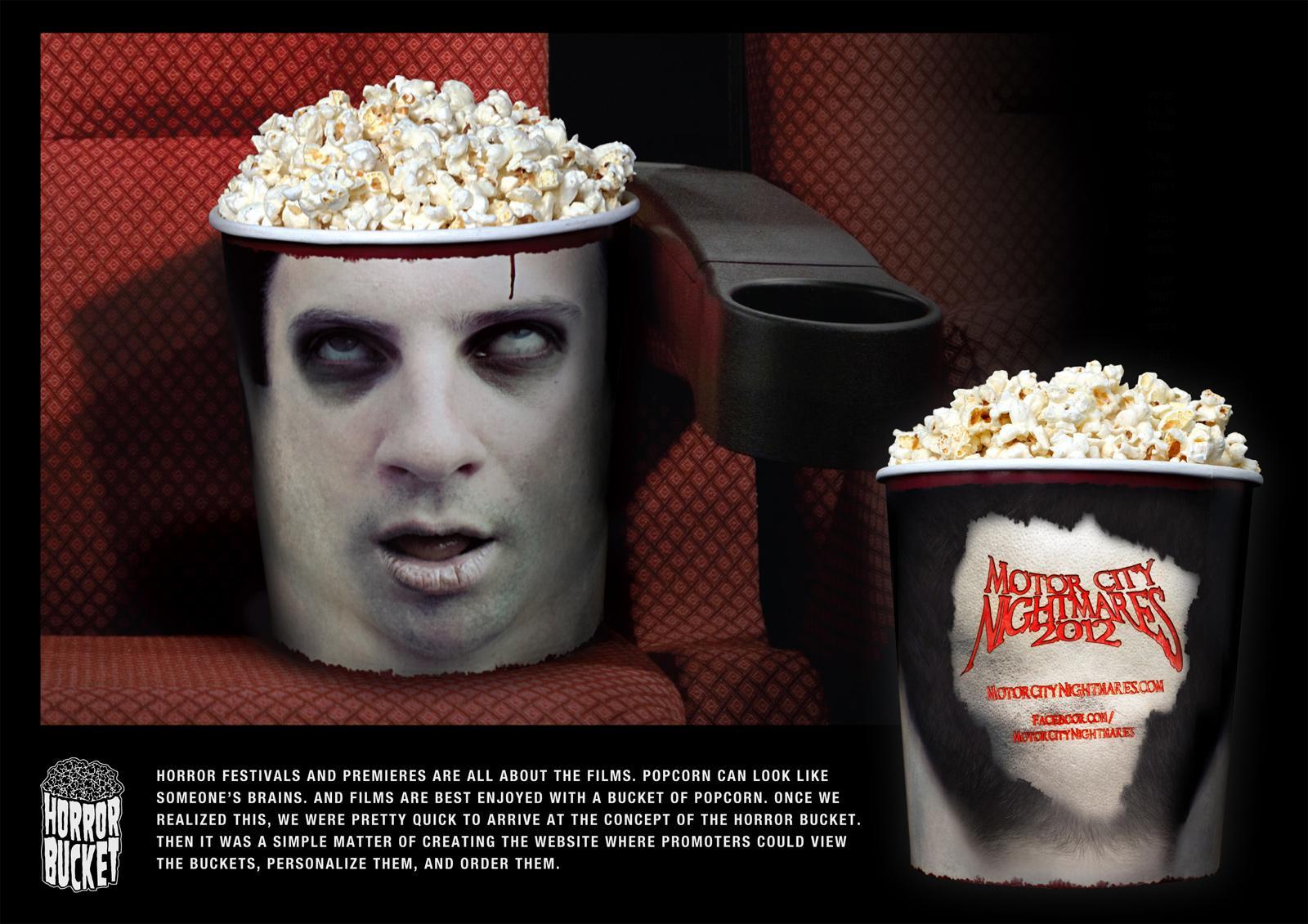 Motor City Nightmares Direct Ad -  Horror Buckets
