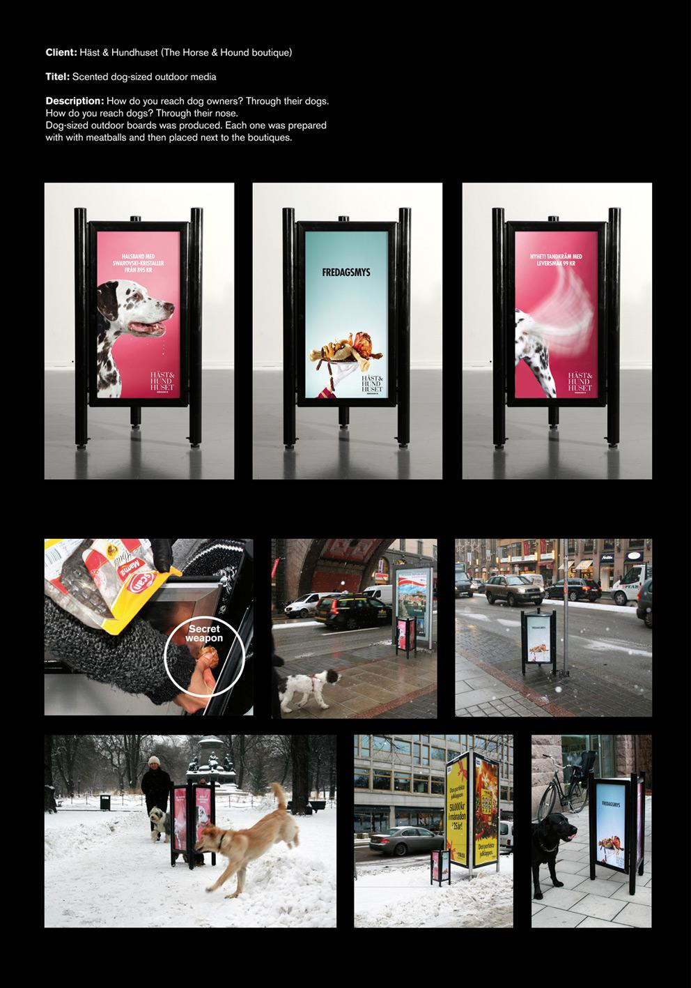 The Horse and Hound Boutique Ambient Ad -  Meatballs