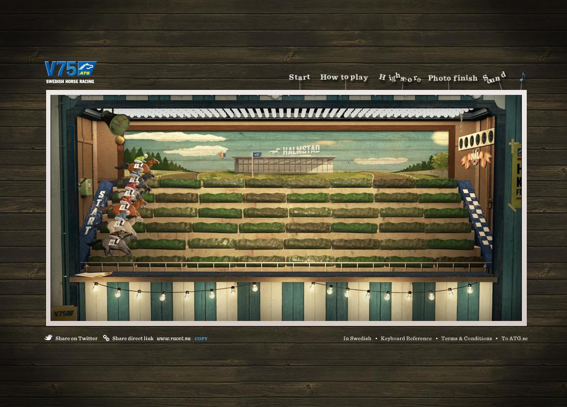 ATG Digital Ad -  The Race