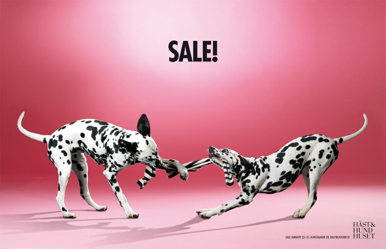 The Horse and Hound Boutique Print Ad -  Sale