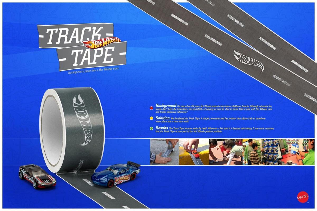 Hot Wheels Direct Ad -  Tracktape