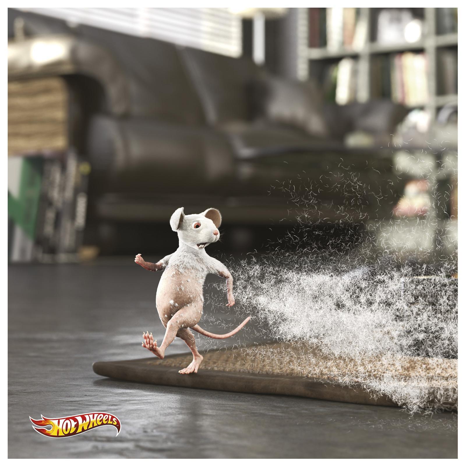 Hotwheels Print Ad -  Baldy
