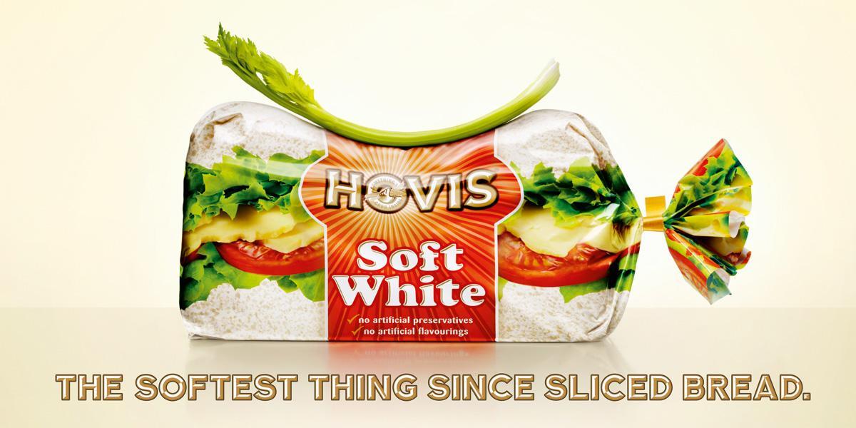 Hovis Print Ad -  Celery