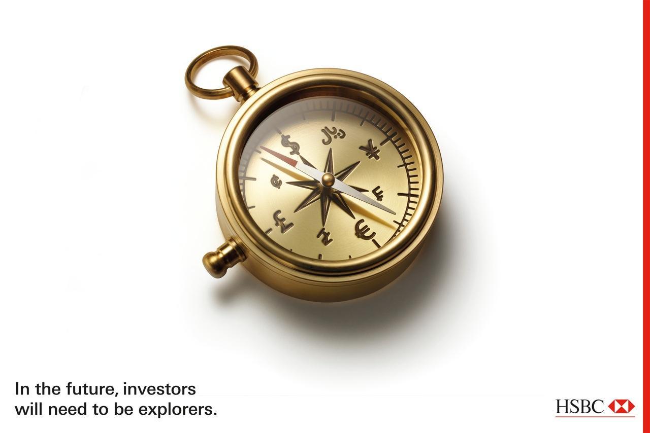 HSBC Print Ad -  Compass