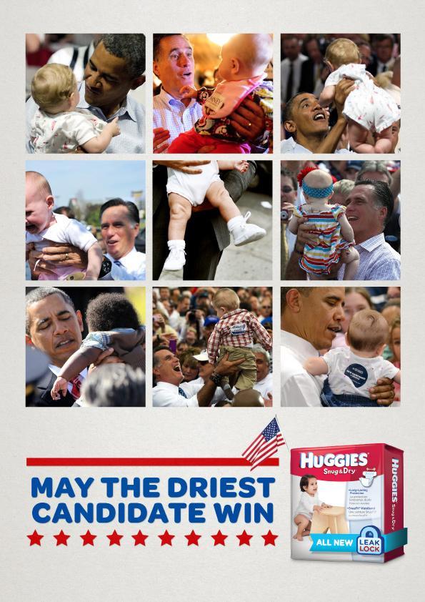 Huggies Print Ad -  Political