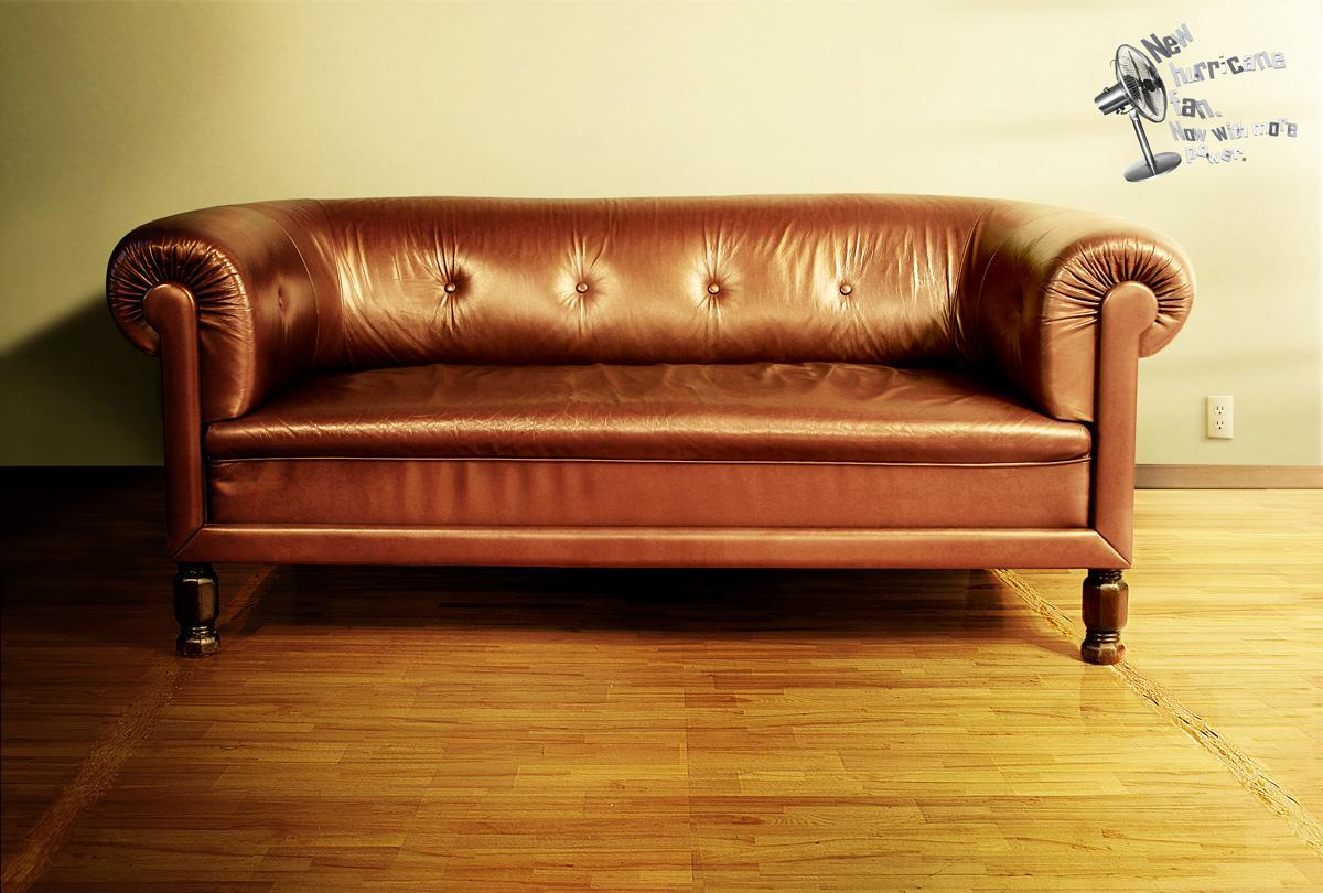 Hurricane Print Ad -  Couch