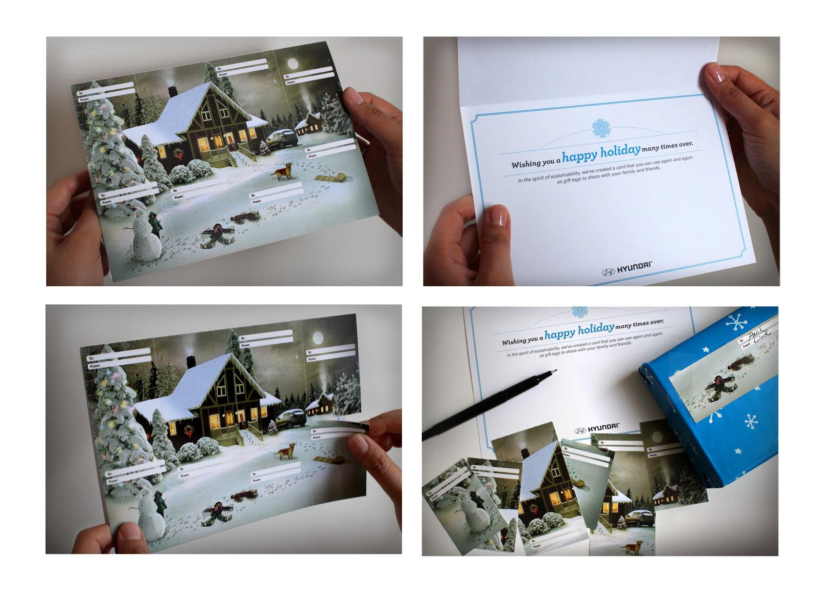 Hyundai Direct Ad -  Live Smart Holiday Card