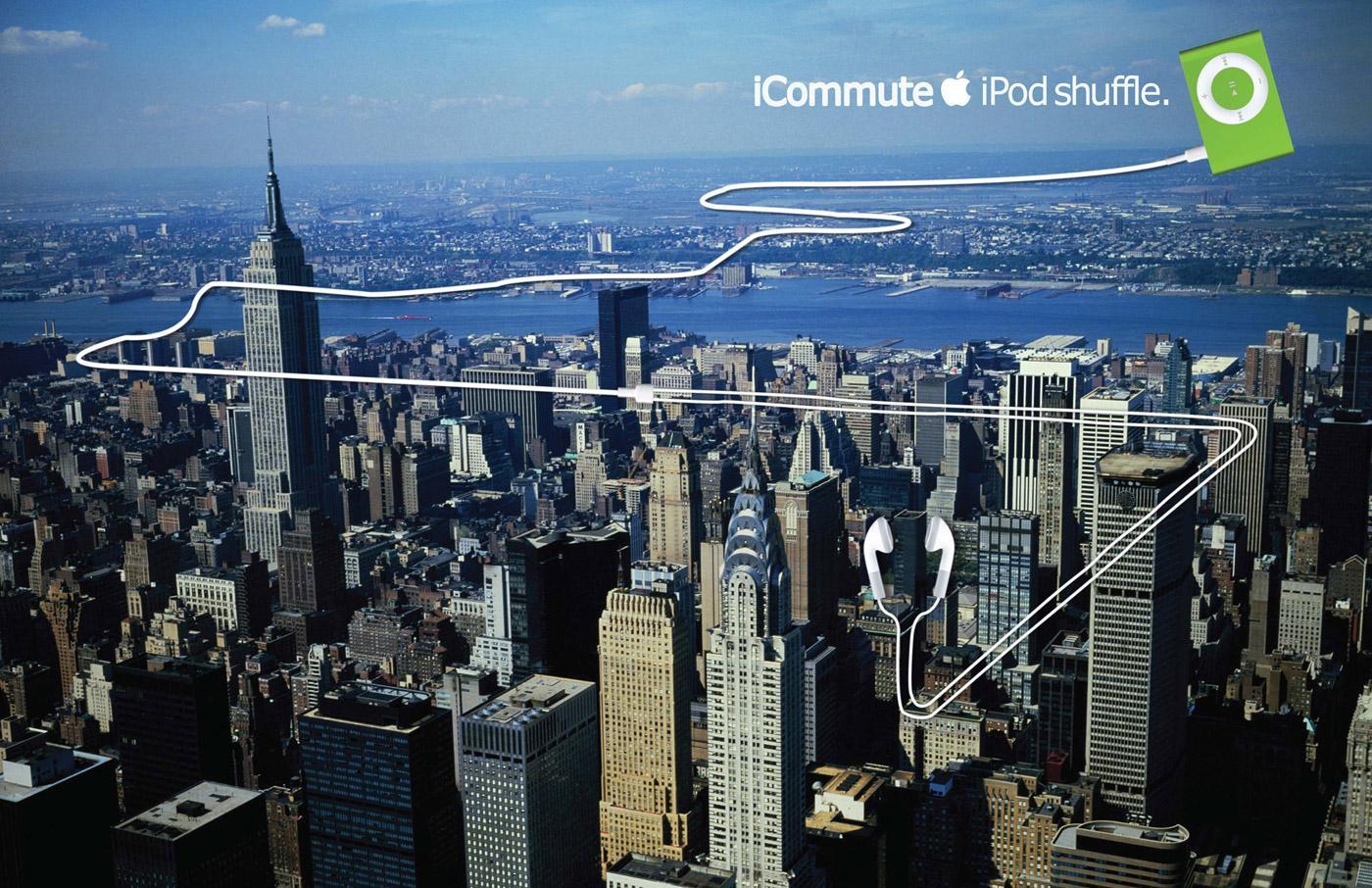 iPod Print Ad -  iCommute