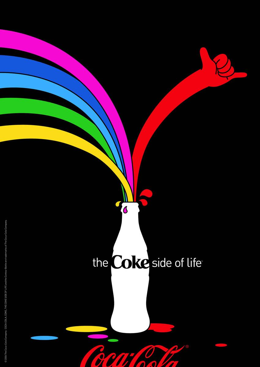 Coca-Cola Print Ad -  Coke side of life, 3