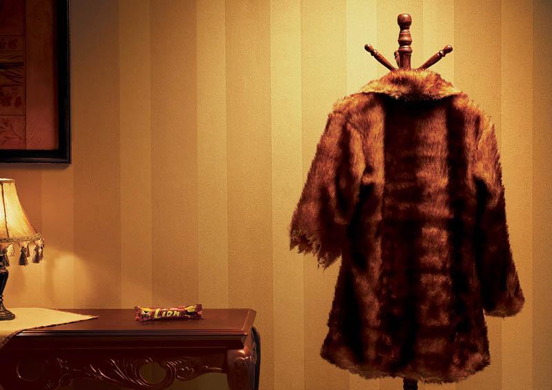 Nestle Print Ad -  Fur coat